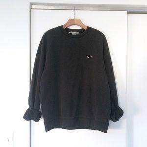 Vtg 90s Grunge NIKE Faded Thrashed Sweatshirt L
